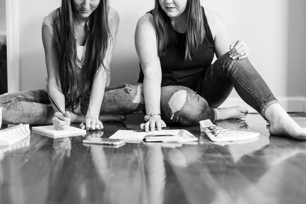 Azar | Sarah + Kaylyn | Marketing for nonprofits + socially responsible businesses, as well as custom design for individuals.
