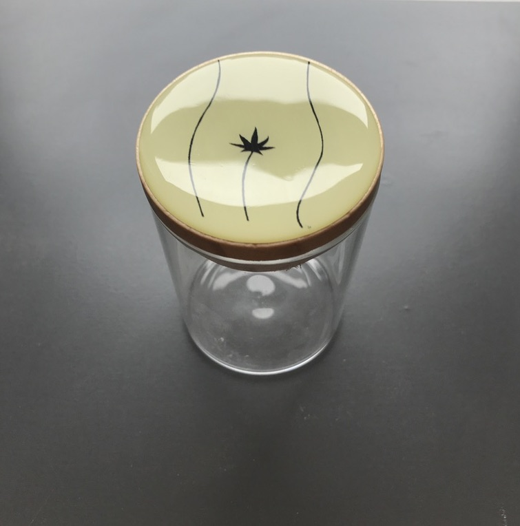The stash jar from PussyWeed™