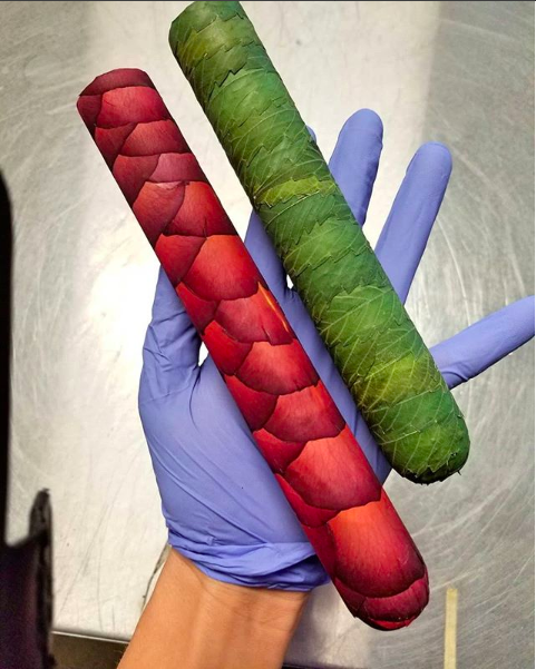 Extreme Smoking. The Rosegar and the Cannagar fro LV Cannagars Image via    Instagram