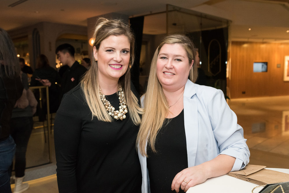 Our co-hosts for the evening: Katie Pringle and Melissa Lubert from  Marigold   Image credit:  Ethical Image