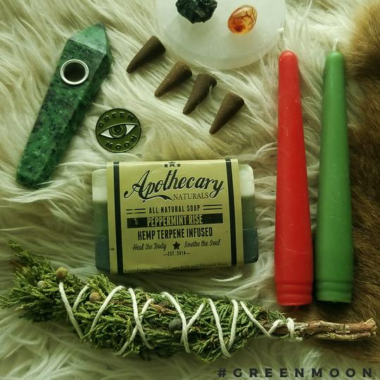 Green Moon Apothecary, $30.00