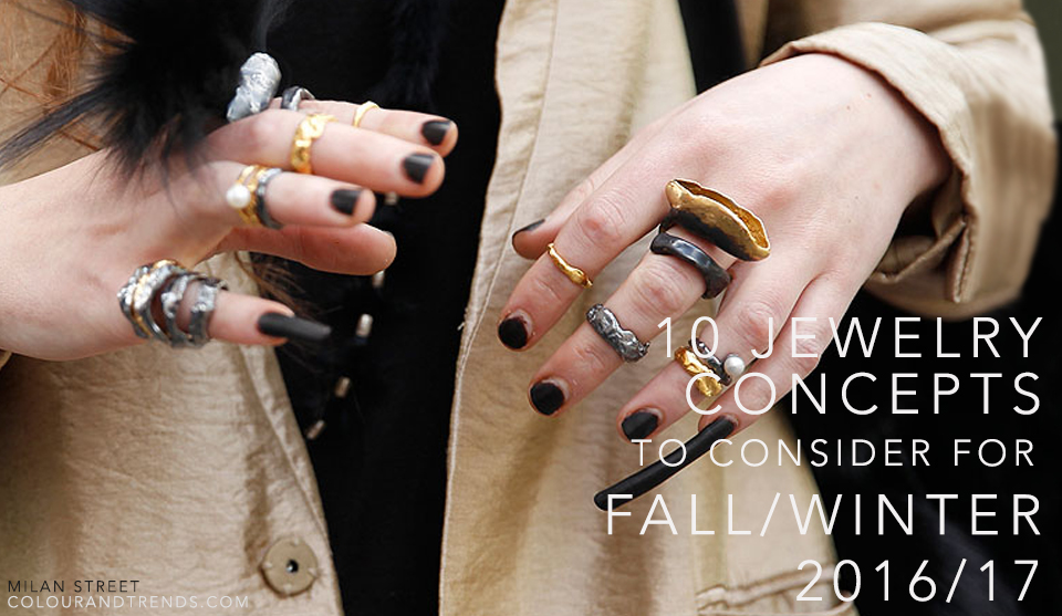 10 Jewelry Concepts to Consider for Fall/Winter 2016/17 ...