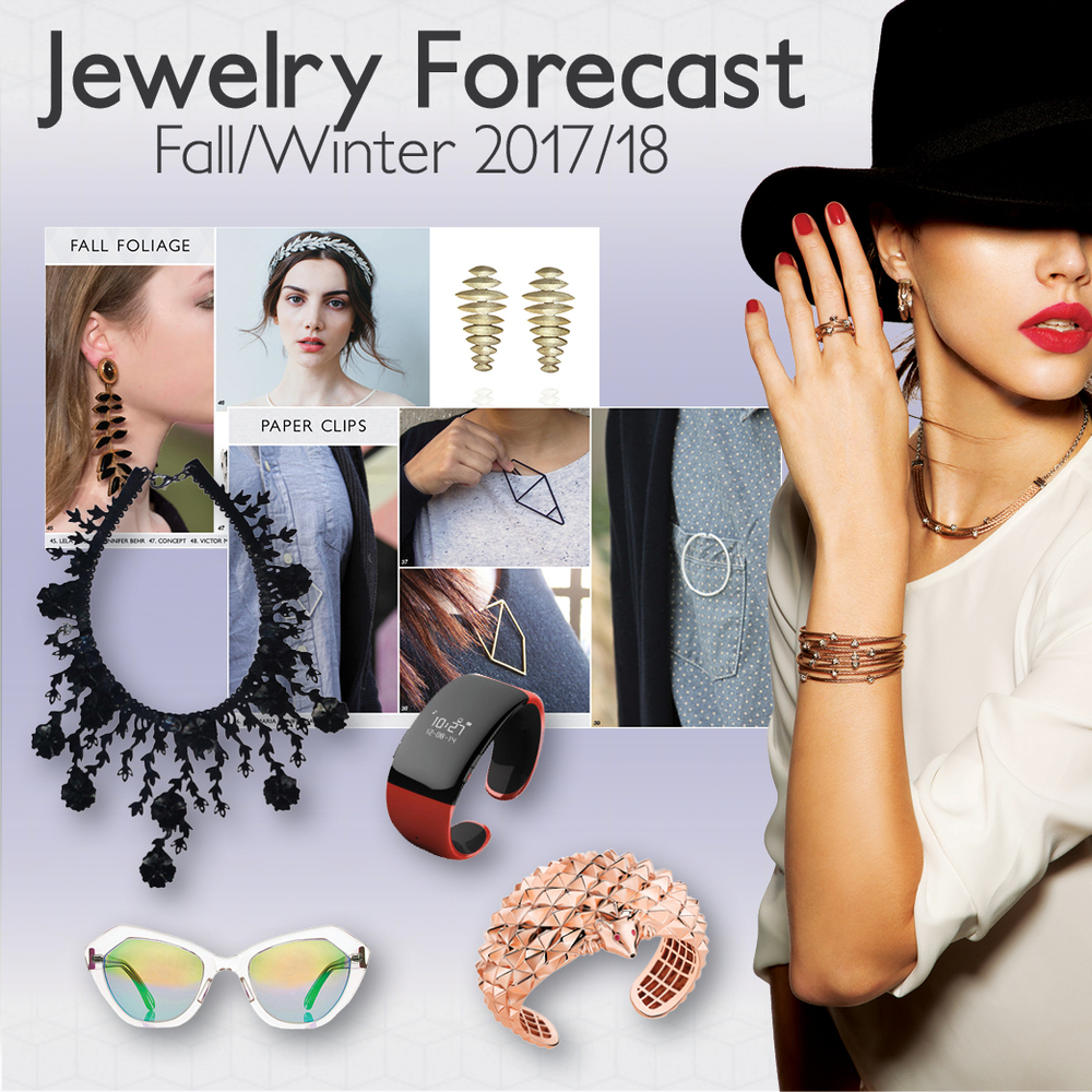 Fall winter 2017 18 jewelry forecast colour trends for Fall jewelry trends 2017