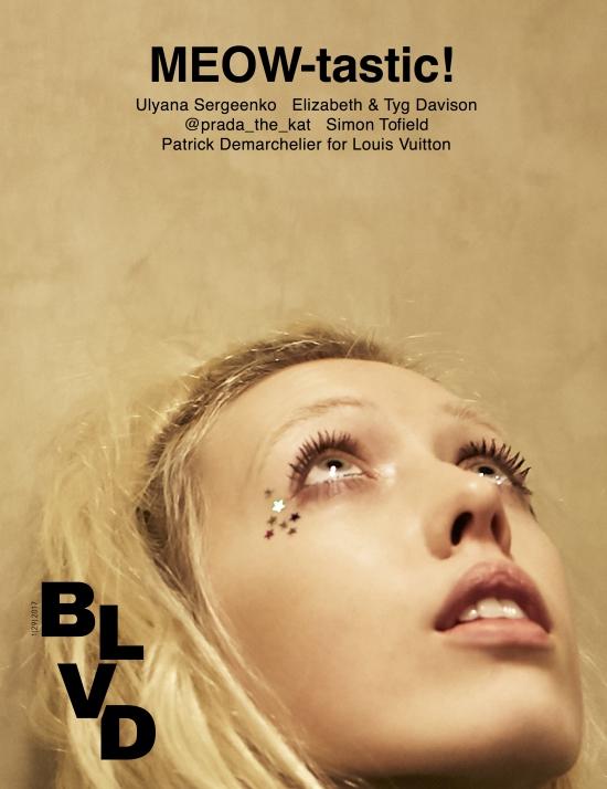 BLVD Magazine Cover 2  Photography Dimitri Hyacinthe Styling Anna Katsanis