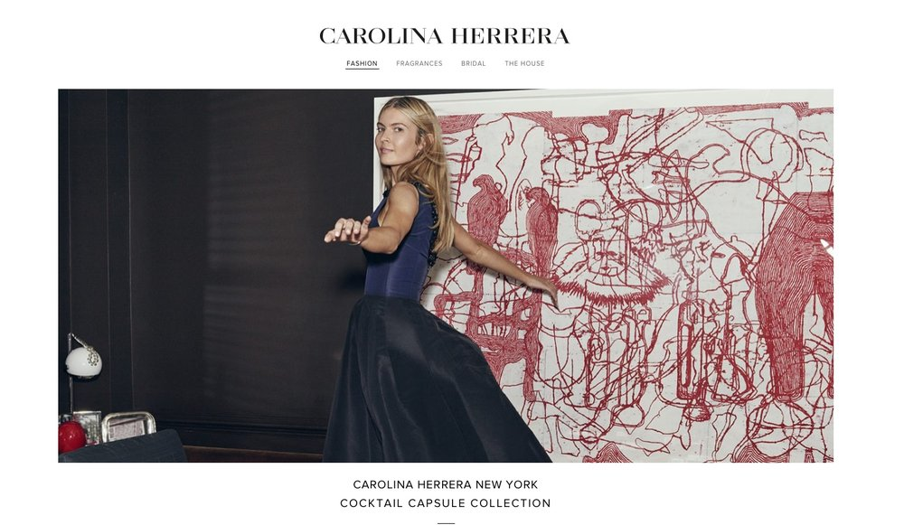 Carolina Herrera Holiday Capsule Collection Photography Matthew Sprout