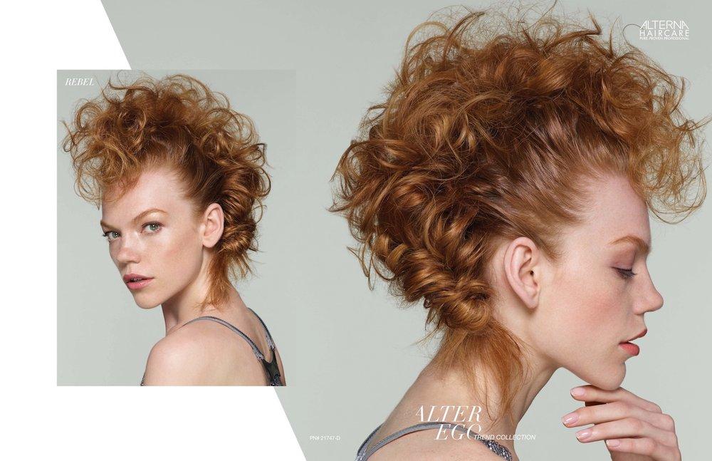 Alterna Haircare Fall 2017 Look book Photography Sarah Silver