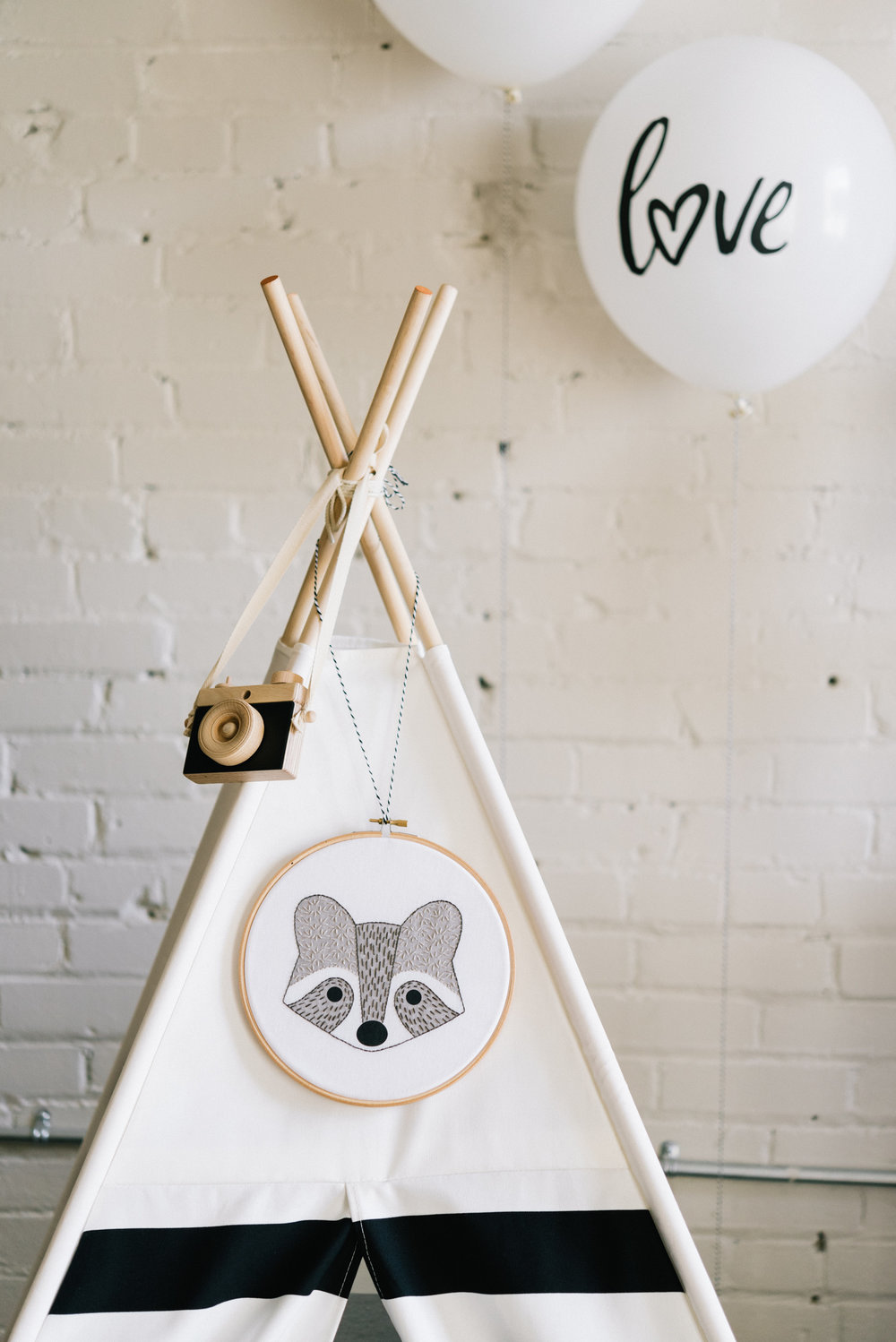 As a photographer, how could I not love this wooden camera by Little Rose and Co? Plus, you can actually press the shutter button! And this teepee by The Teepee Store is perfect for kids play or read in.