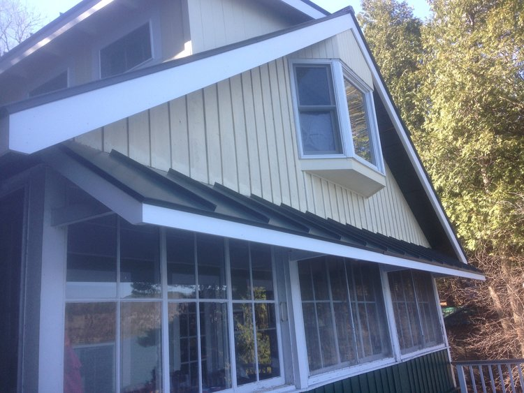 New Haven Builders Inc Exterior Upgrade To Summer Home