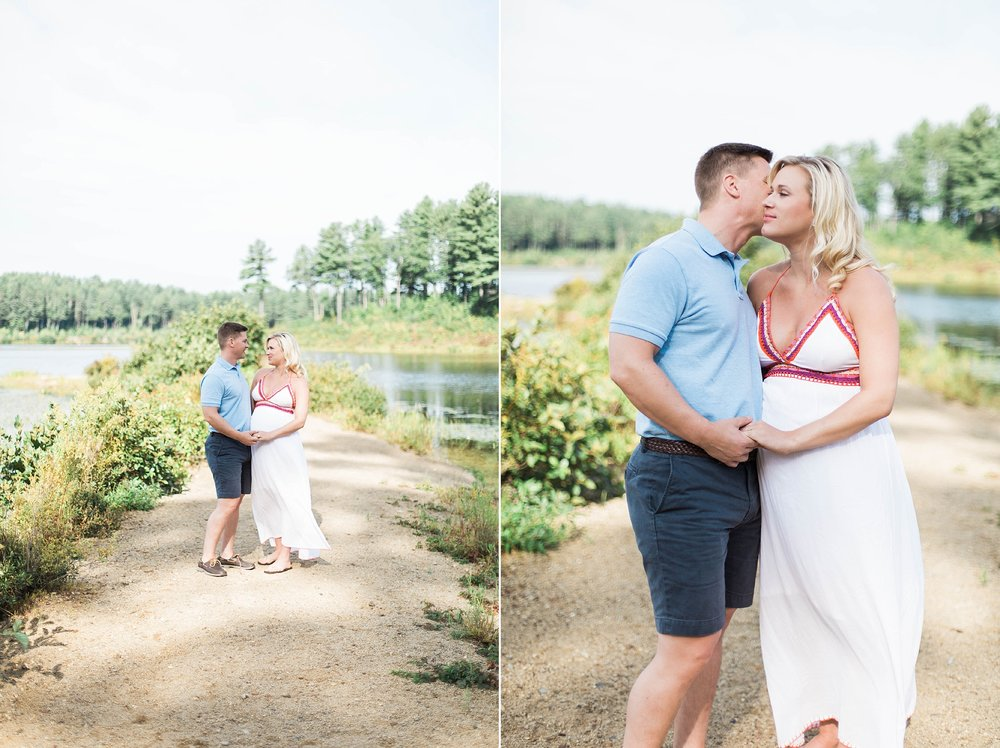 Clough State Park Photo Session | New England Photographer | Madison Rae Photography