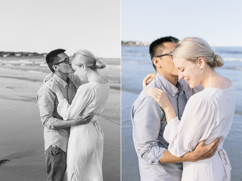 Rye Beach Engagement Pictures | New Hampshire Beach Photos | New Hampshire Photographer | New England Wedding Photographer | Madison Rae Photography