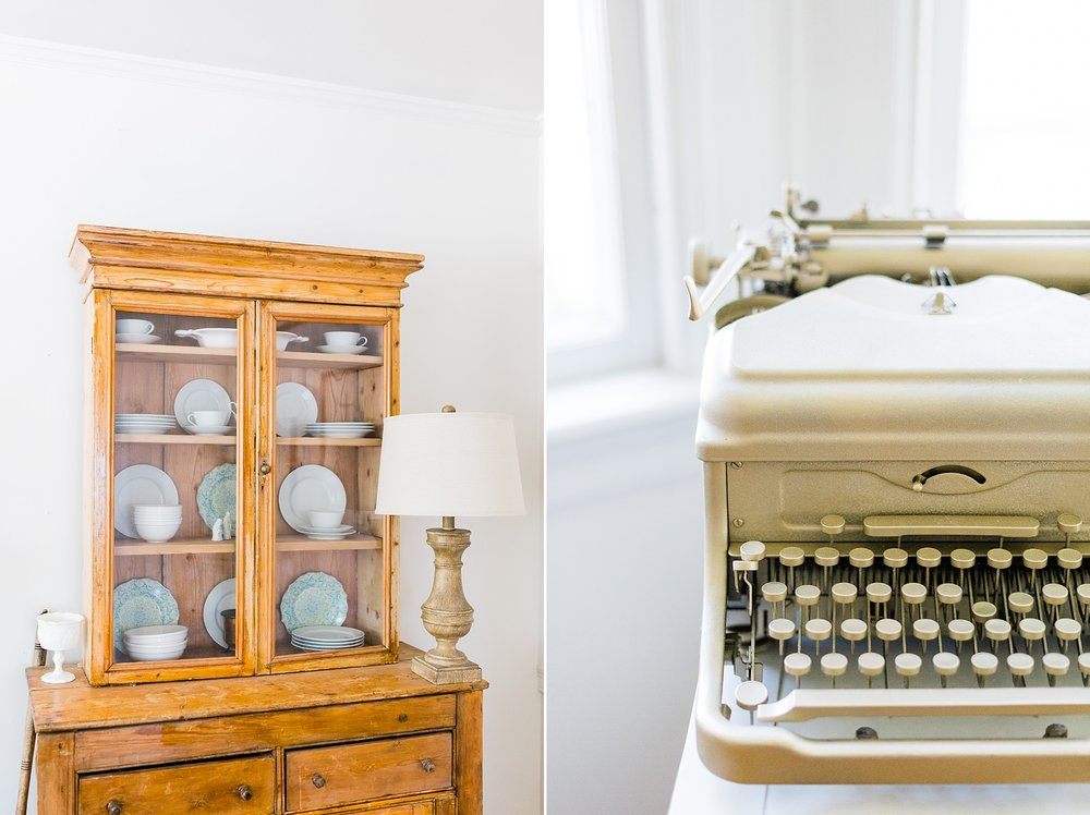 Vintage Decor - New Hampshire Home - Madison Rae Photography