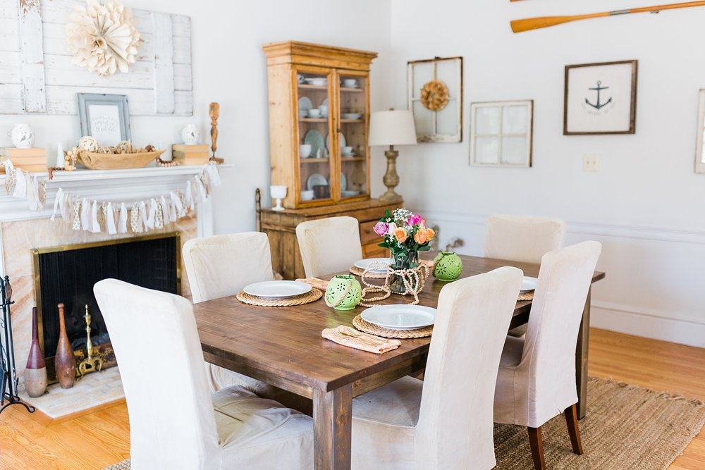 Dining Room - Interior Design - New Hampshire Home - Madison Rae Photography