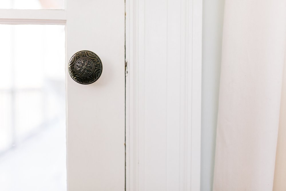 Vintage Door Knob - New Hampshire Home - Madison Rae Photography