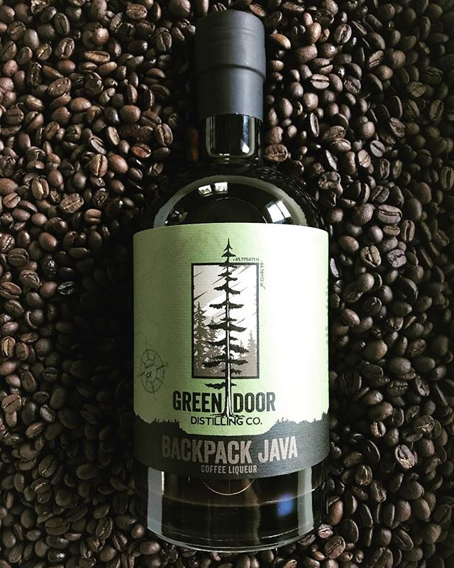 Green Door Distilling Barrel-Aged Backpacker Java Release Party TODAY from 5pm-10pm.  Come on down and see what all the buzz is about!  Have a drink or take home a bottle of this very limited edition run of Backpacker Java, a collaboration between @greendoordistilling & @euphoriacoffeeco !  #greendoordistillery #euphoriacoffee #craftcocktails #craftcoffee #coffeecocktail #downtownkalamazoo #kalamazoo #michiganspirits #michigan #entrepreneurship #puremichigan #jointheadventure #greendoor #discoverkalamazoo #coffeliqueur #coffee #specialtycoffee #smooth