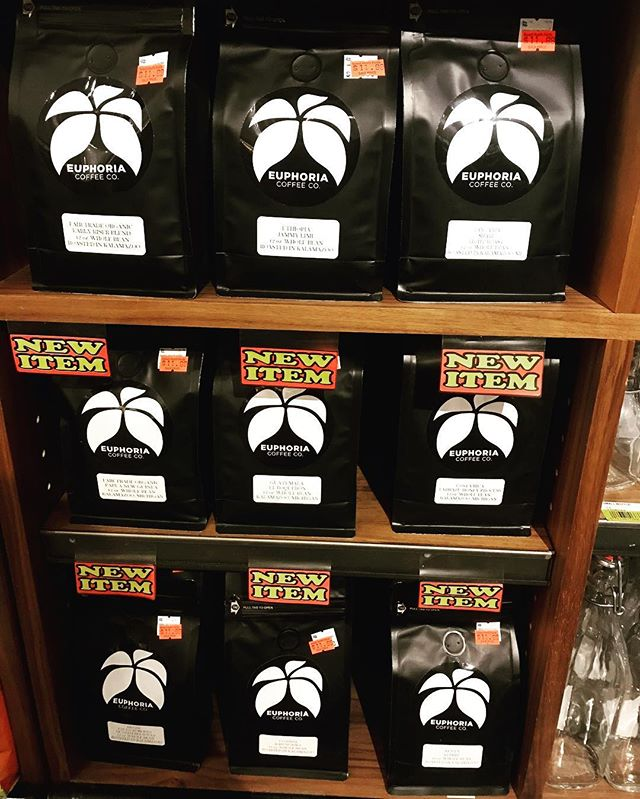Sawall Health Food carries 15 different coffees from Euphoria Coffee with a wide selection of lighter roast!  Lots of coffees from different regions and roast profiles to choose from! Sold in both 12oz retail bag & in bulk.  Please shop local & support your local Kalamazoo grocer and coffee roaster!  #euphoriacoffee #craftcoffee #sawalls #kalamazoo #michiganmade #buylocal #discoverkalamazoo #kzoo #coffeeroaster #quality #coffee #michigan #michigrammers #michigancoffeeculture #kalamazoomi #euphoria #specialtycoffee #coffeeaddict #coffeelover