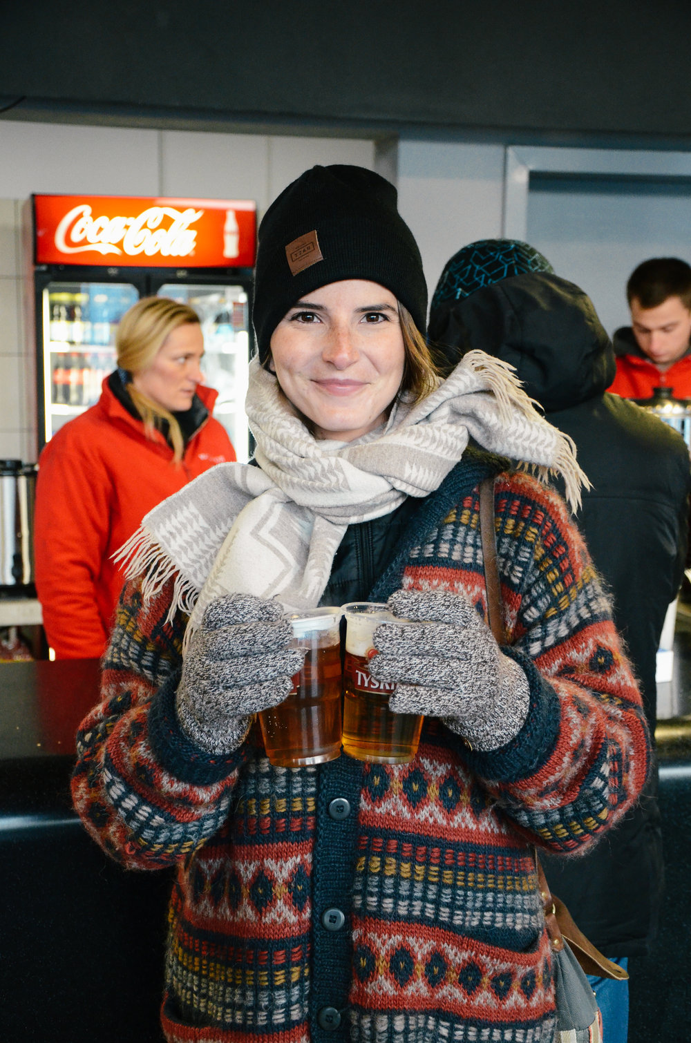 ^^ in the winter they serve warm mulled beer, which is exactly what it sounds like. it sounds a bit strange, but i might actually prefer this to mulled wine!