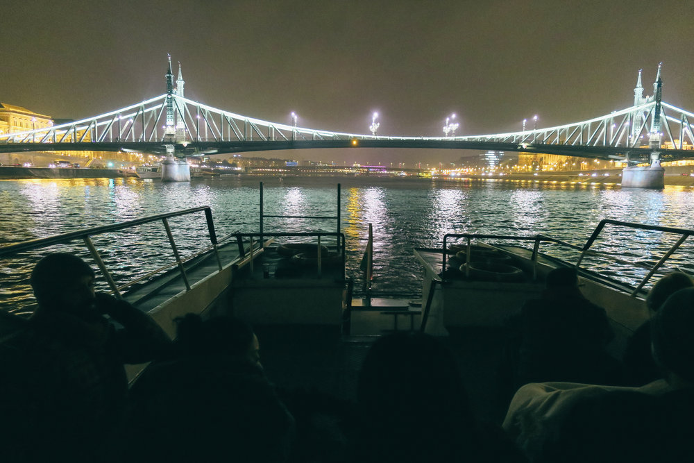 ^^ if your schedule allows, we'd also highly recommend an evening on the water! the boat rides last about an hour and seeing the city at night is stunning