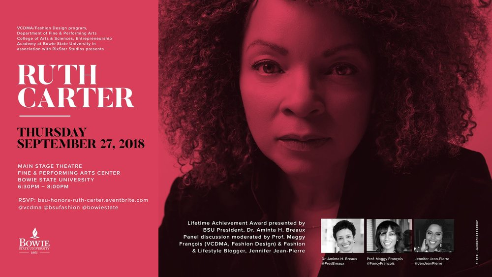 Ruth Carter at Bowie State University