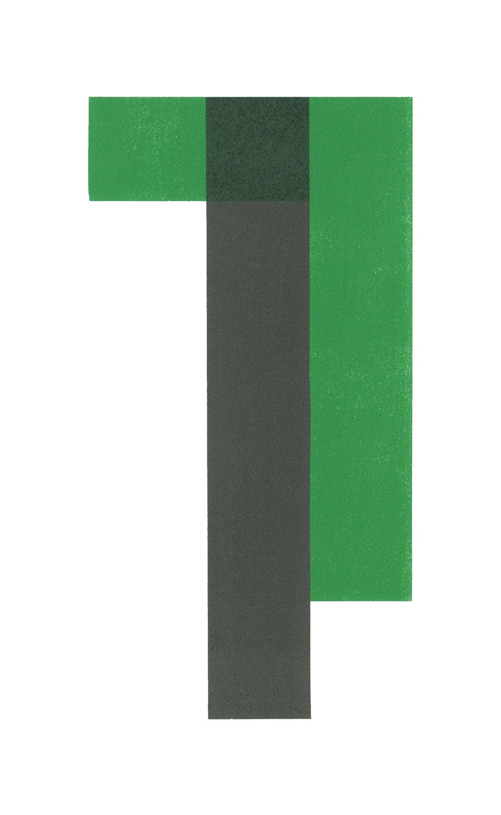 """Vert, 2015, lithograph, 15.75"""" x 9.75"""""""