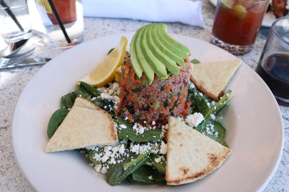 Anciet Grain and Avocado Salad,Bar of America, Truckee, CA
