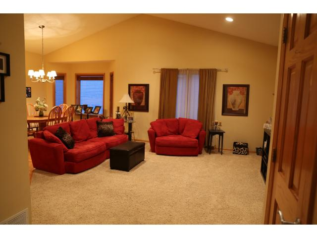 Main level living room - great open floor plan.
