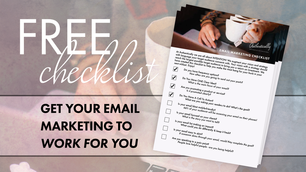 Get a Free Email Marketing Checklist
