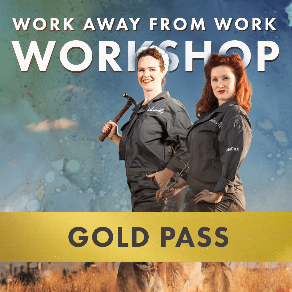 Gold Pass - Work Away from Work Workshops in Regina with Authentically