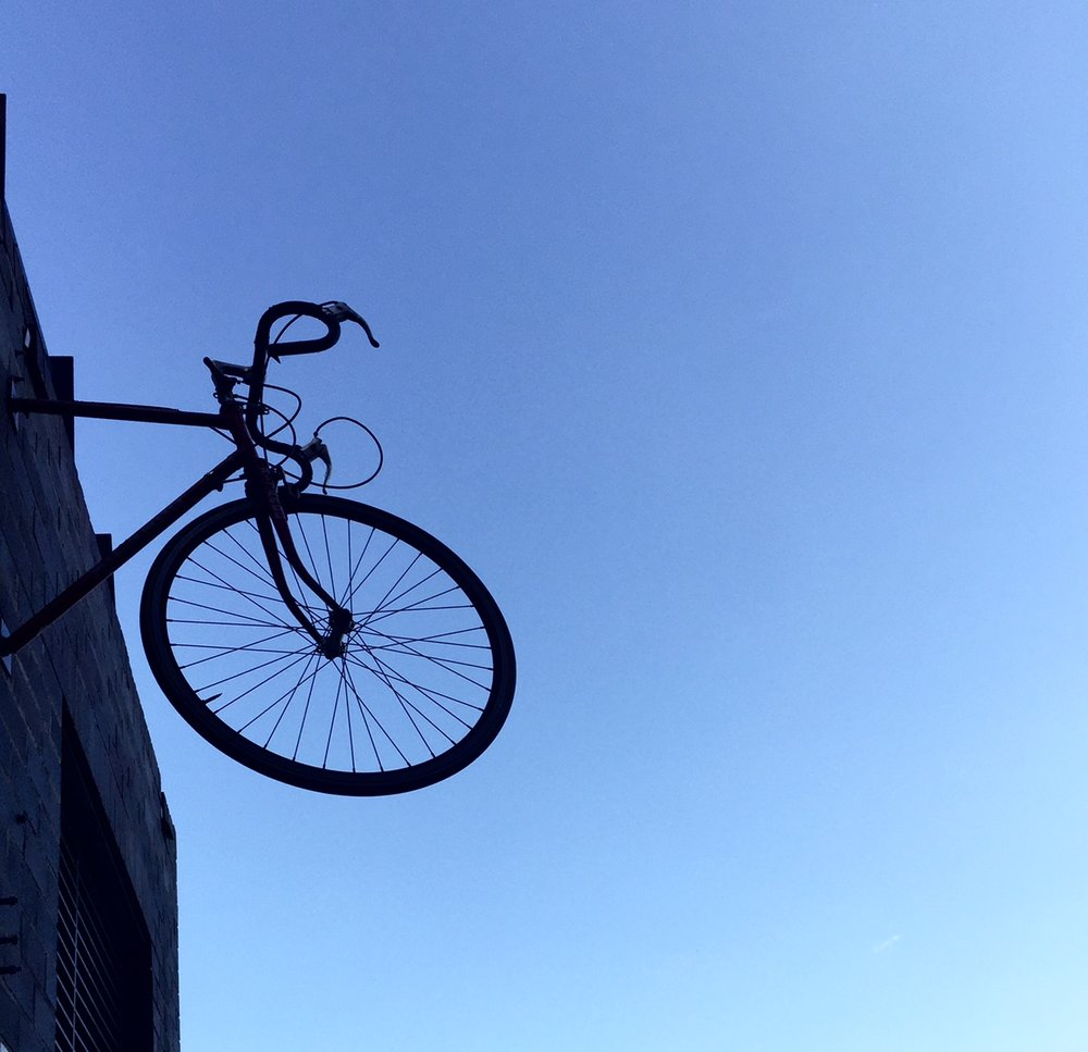 2. Bike in the air