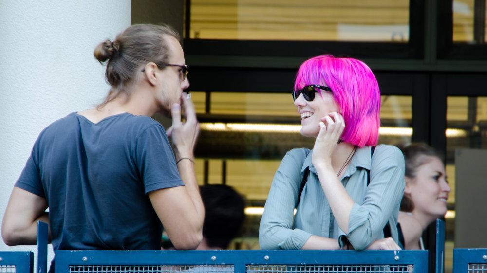 31. Pink conversation