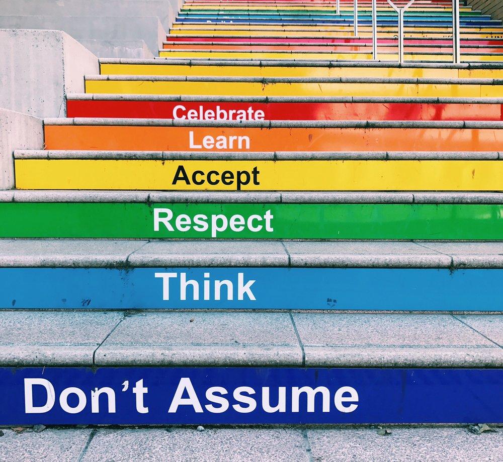 68. Don't assume