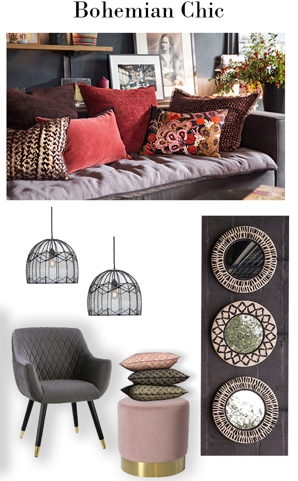 Introducing the latest collection of cushions and mirrors from the French brand Elitis. The combination of linen and velvet textures and timeless prints create an effortlesly eclectic feel. They work well with our new woven pendant lights that you will see in our current window display.