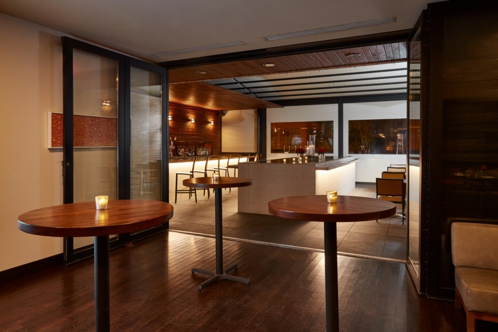Private Dining Room + Enclosed Rooftop Terrace
