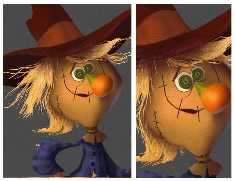 Scarecrow - Detail