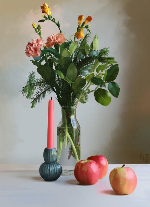 Carnation Still Life