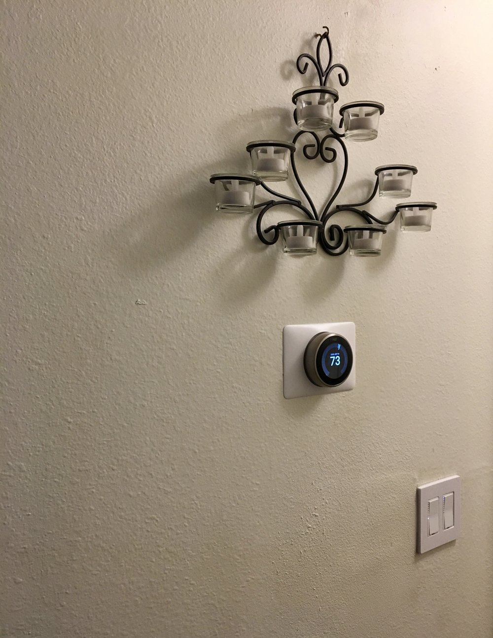 Entryway - Insteon switches and Nest Thermostat
