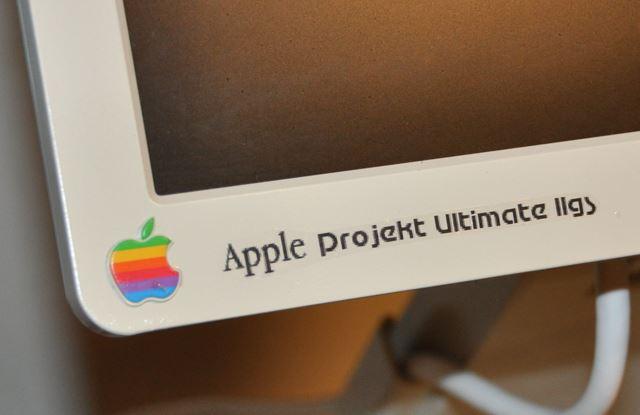 Custom Apple IIGS decals