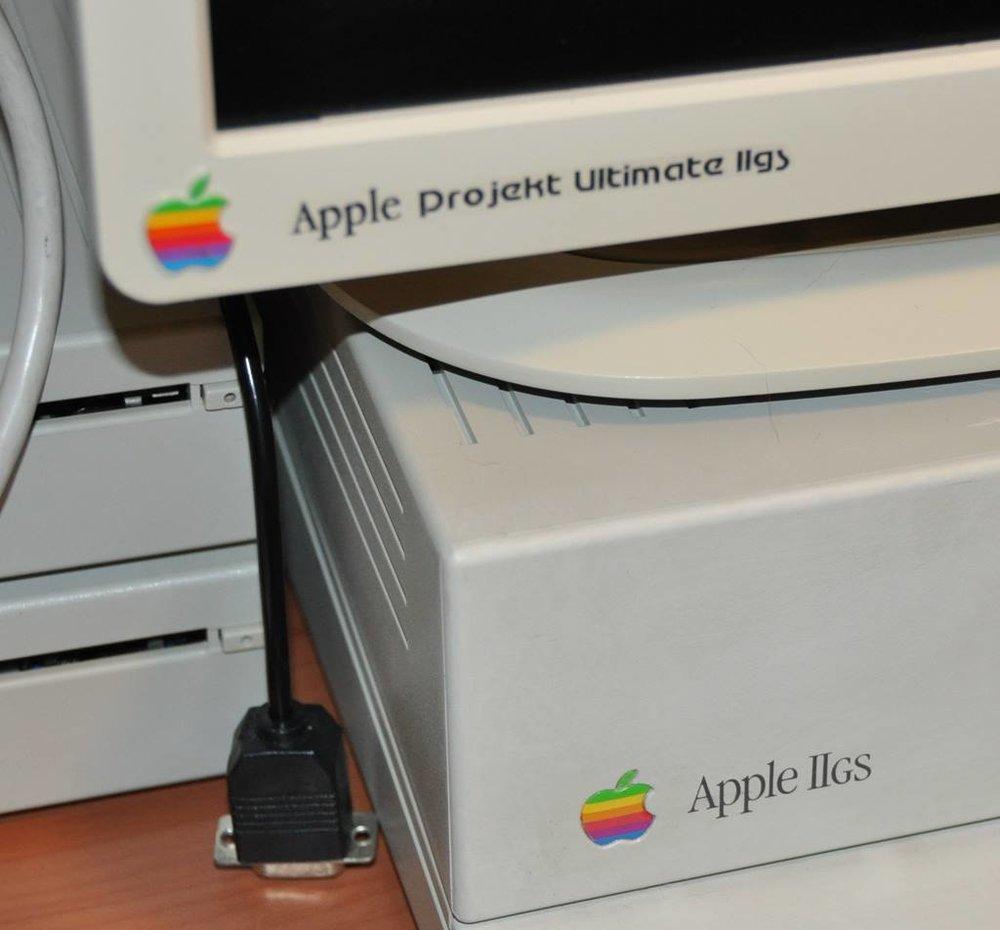 Apple IIGS decals