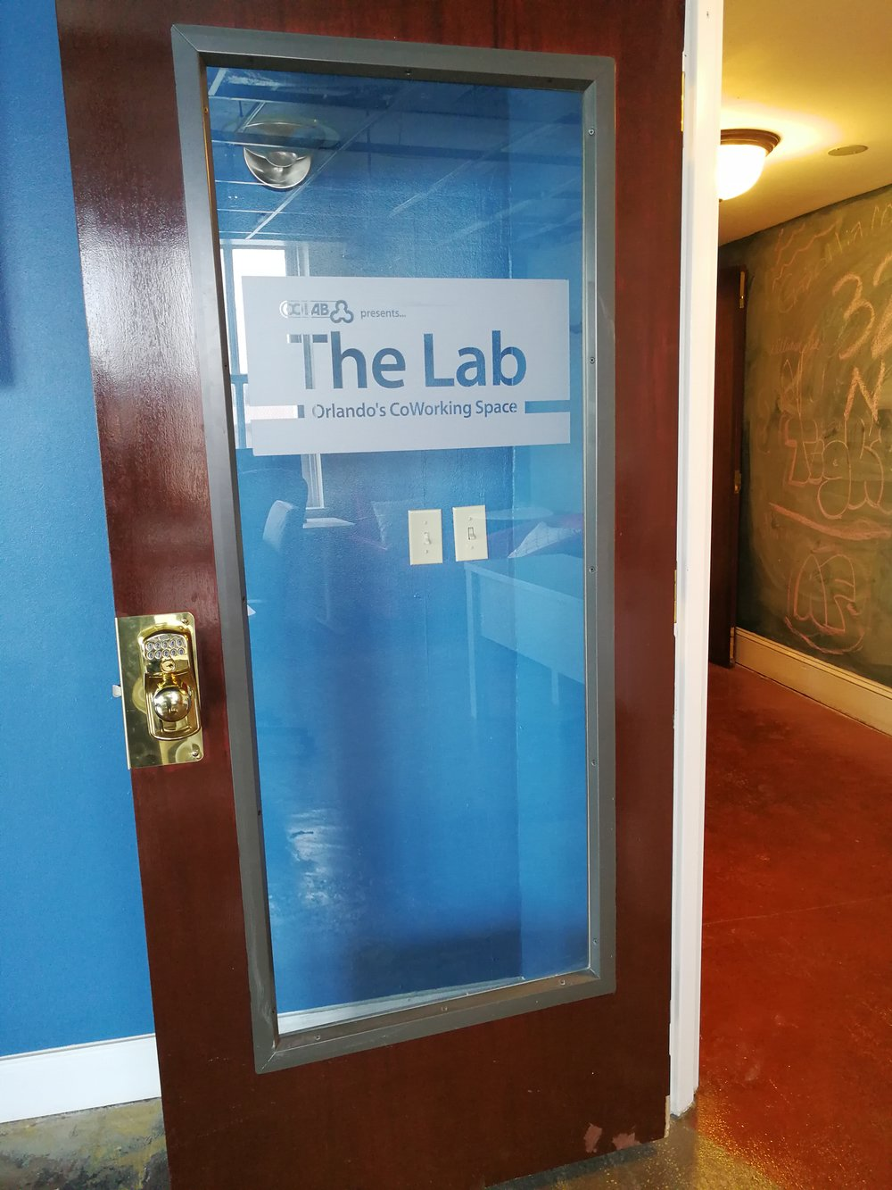 Welcome to The Lab - Orlando's CoWorking Space