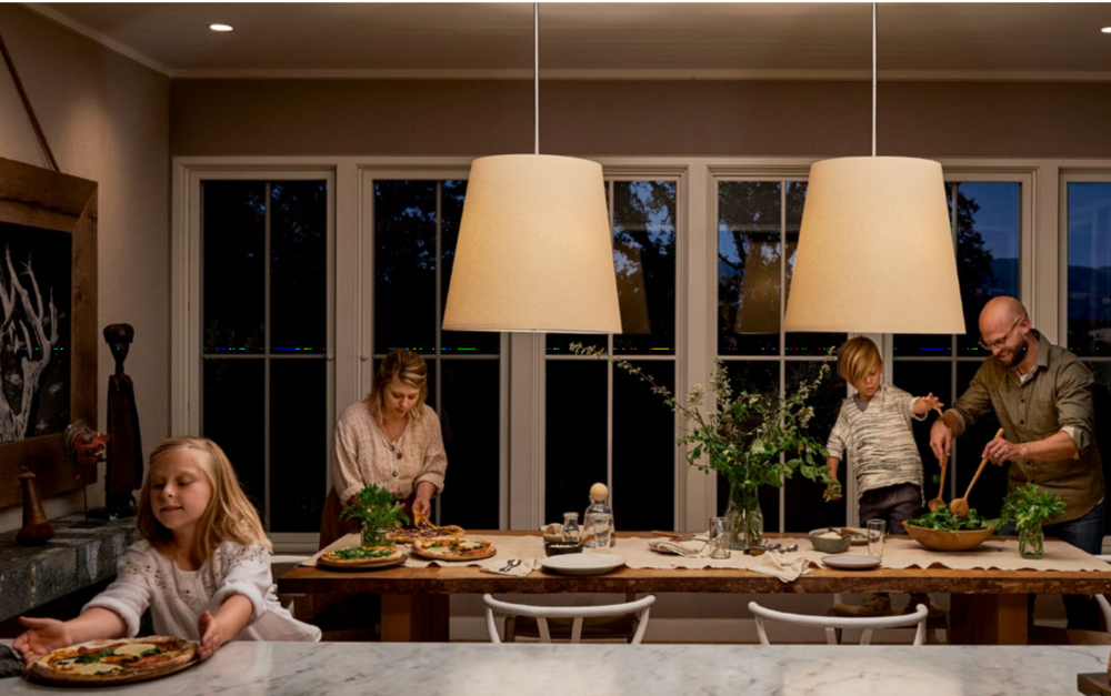 Home in a New Light - When the light around us is perfect, we feel it. Everything is more beautiful. We're more productive. And we simply feel better. The Noon lighting system coordinates your existing lights to create beautiful, layered lighting for any room in your house.