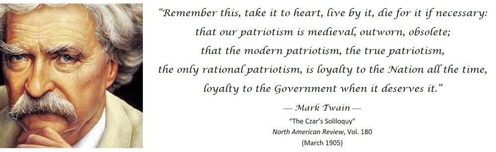 True Patriotism Defined