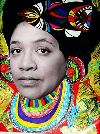 The Use of the Erotic x Audre Lorde - graphic by Elroy and Jean-Louis