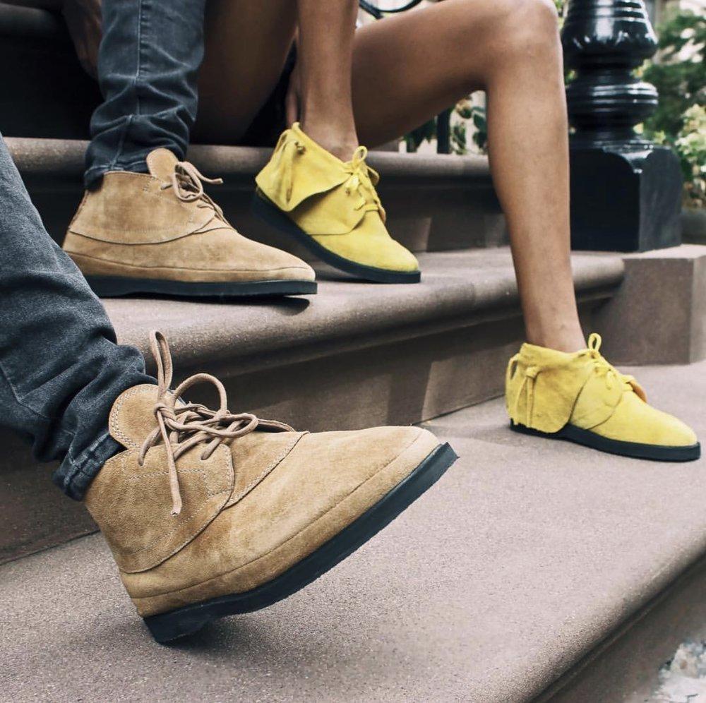 Emecheta Mid| EKO Sneaker