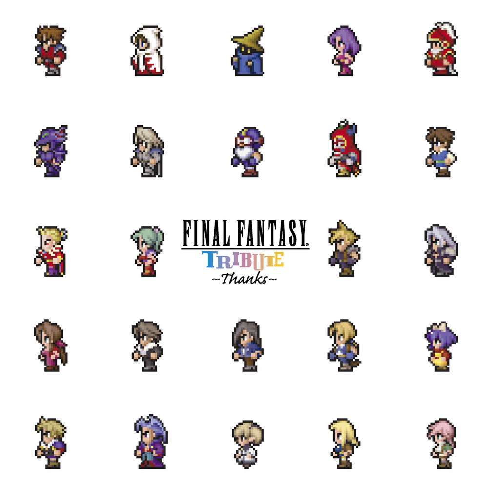 2012.12.05  FINAL FANTASY TRIBUTE ~Thanks~ / V.A.