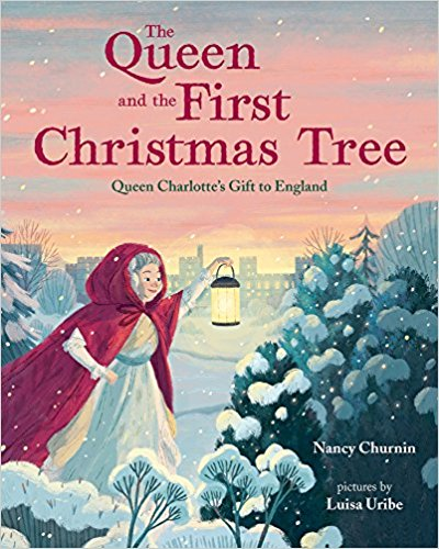 Queen Charlotte brought her family's festive holiday yule bough from Germany to England. While planning a Christmas Day party in 1800 at Windsor Castle for over 100 children, she realized a single bough isn't enough. So she brought in the whole tree instead, making it the first known Christmas Tree in England. This story tells a little known fact about a favorite holiday tradition.