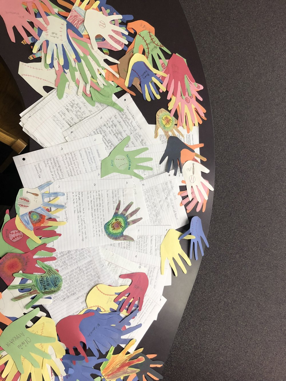 Letters from the children of Our Lady Queen of Heaven Catholic School in Lake Charles, Louisiana