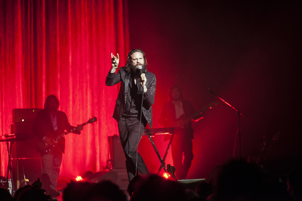 Father John Misty at The Wiltern in Los Angeles, CA.