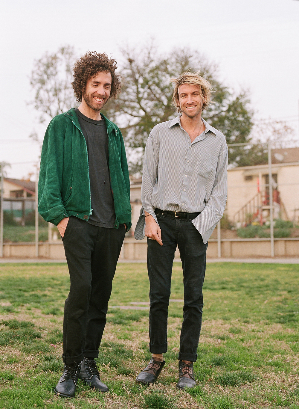 SWIMM - Residency band portrait series for The Echo. Photographed in Lincoln Heights,CA in Jan. 2016.