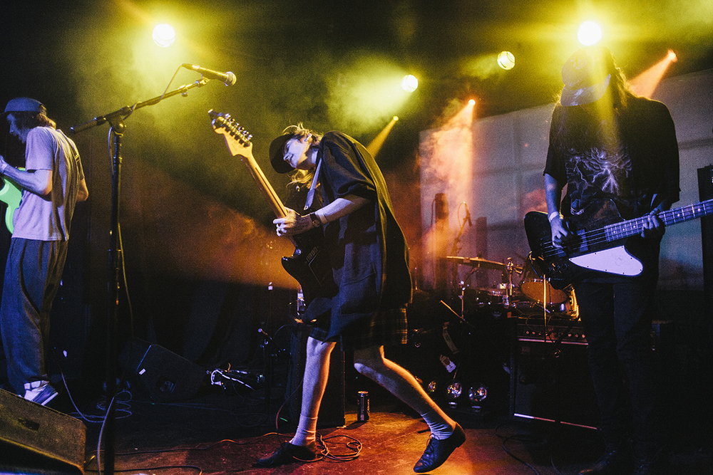DIIV - Live at The Echo with La Sera and The Paranoyds on  2.22.16, p hotographed for LA Record.
