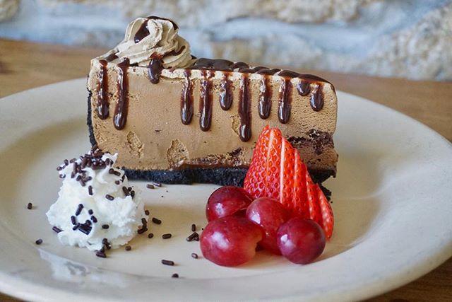 🚨Special Dessert Alert!🚨 Mocha Mud Pie, made fresh and locally in Redondo Beach! Get it while it lasts. #JimmysKouzina