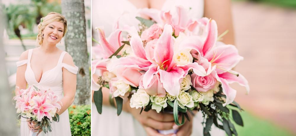 Destination Wedding Photography_Riu Palace Riviera Maya_Playa Del Carmen_Mexico_bridal shot by palm trees_Destination Wedding Photographer.jpg
